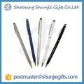 2016 china best price stock metal ball pen with customize logo
