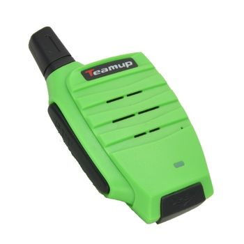 Teamup 1000 meter walkie talkie licence free mini radio