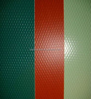 1100 color coated roofing material aluminum embossed sheet