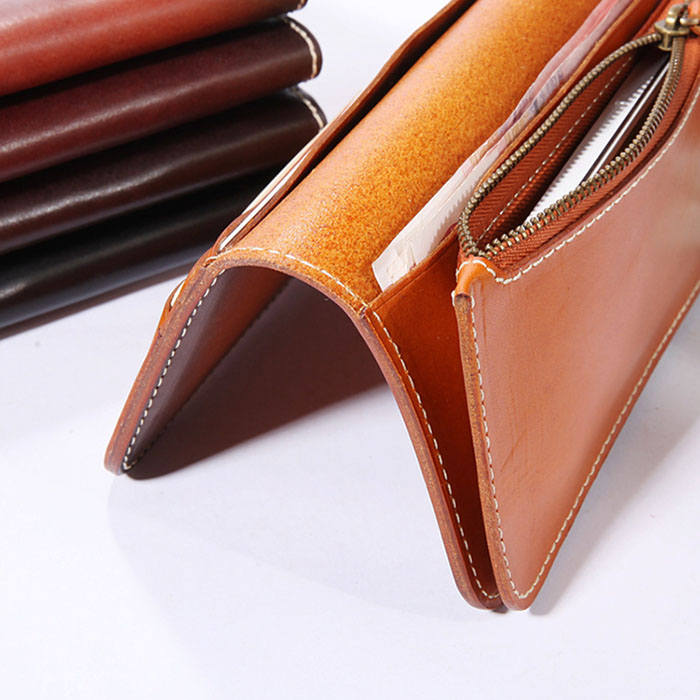 Genuine Leather Wallet with Coin Pocket inside 100% the first lady wallet handbag.jpg
