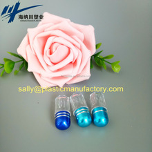 Pills Container With Clear Plastic Cover Octagonal Capsule Container