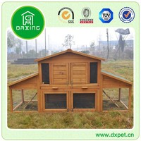 Used Custom Wooden Pet Product Rabbit Hutch