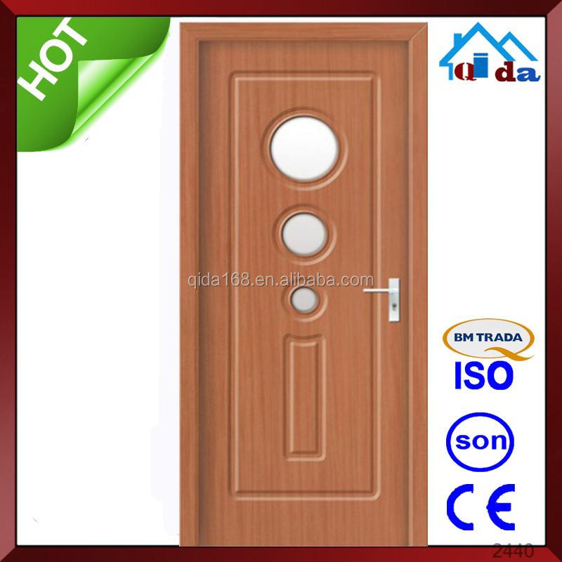 New Modern interior hdf wooden door for room