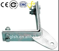 corner tower in cable fastening clamp
