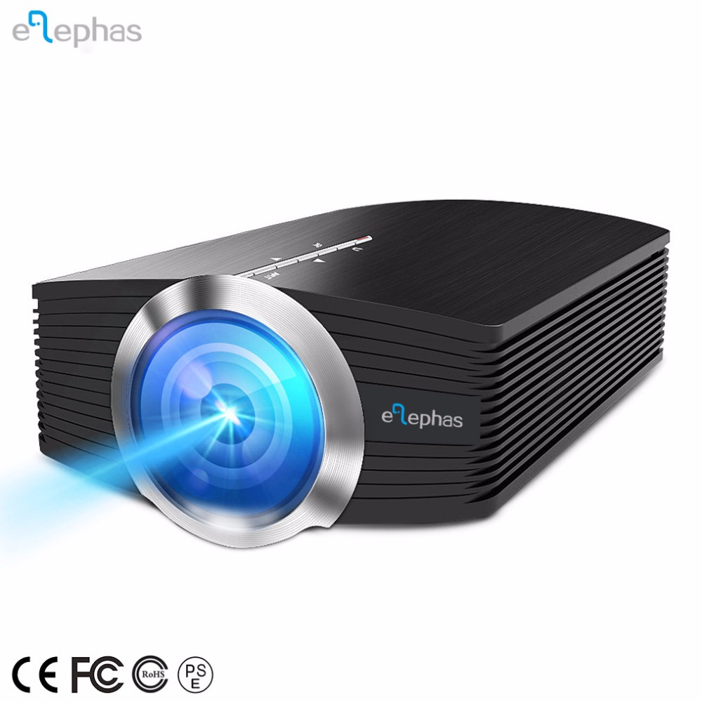 Mini Portable Projector 1800 Luminous Efficiency Home Cinema Theater Movie Video Projector