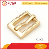 Small gold bar buckle heel bar buckle pin buckle for bag accessories