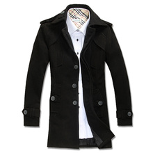 winter heavy coat style dress for man