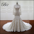XF1123 plus size mermaid wedding dress