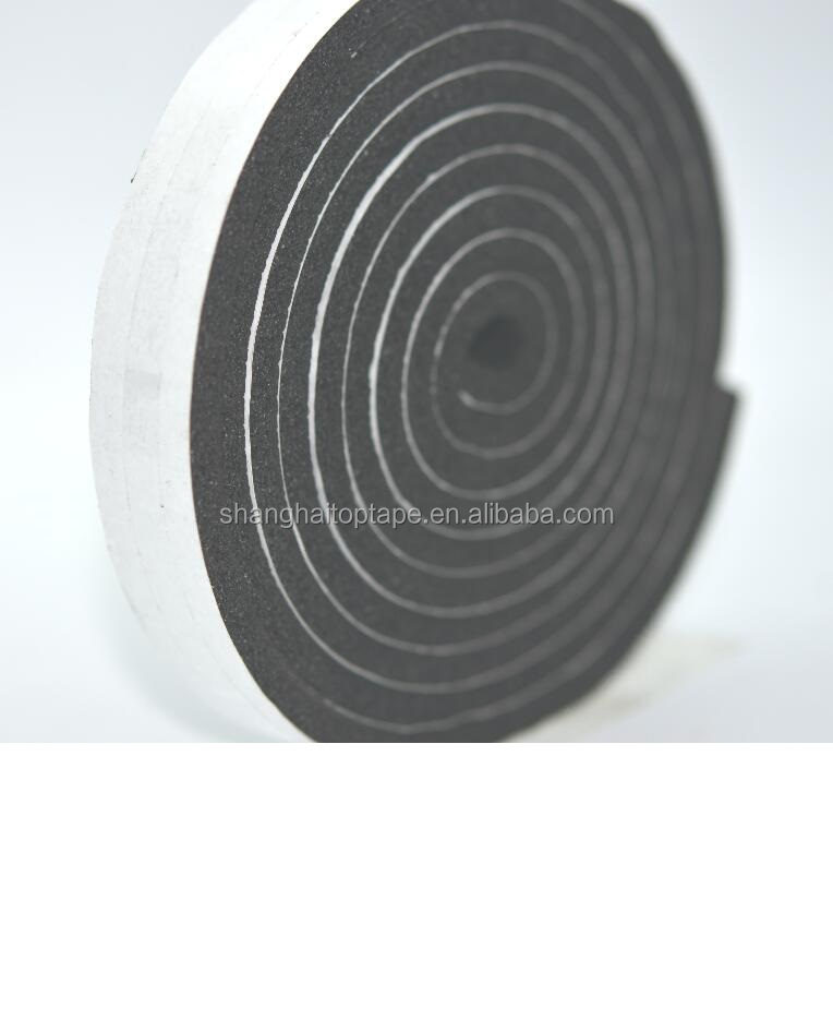 automotive weatherstripping NBR PVC foam tape closed cell