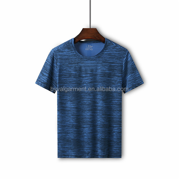 Byval wholesale high quality dry fit sport tshirt custom screen printed cheap sport t shirt