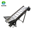 High output Scraped type conveyor system