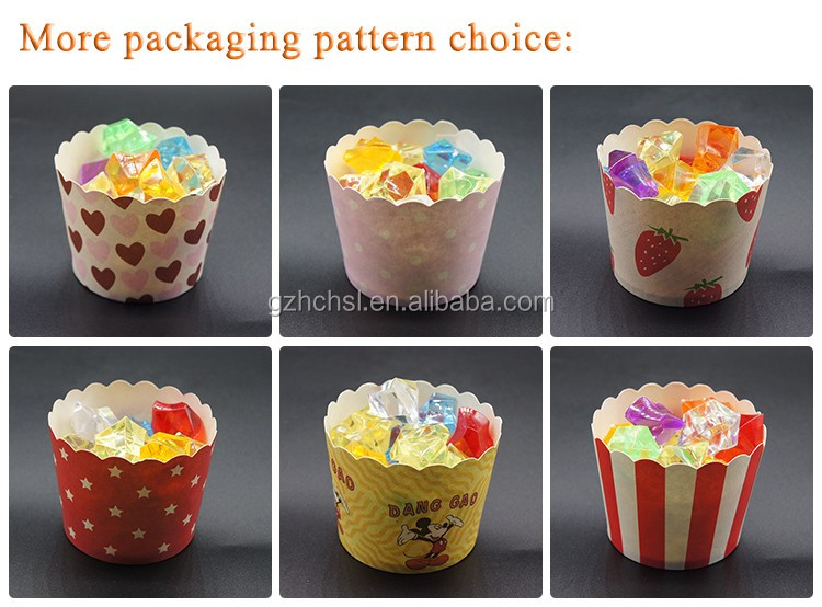 Customized printed food grade cupcake cases tool colorful muffin cup,Greaseproof Baking Paper Cup  Cupcake Wrappers Cupcake Line