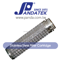 5 inch stainless steel mesh filter cartridge for water filtration