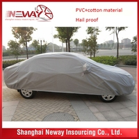 Cheap price custom crazy selling opaque white car cover