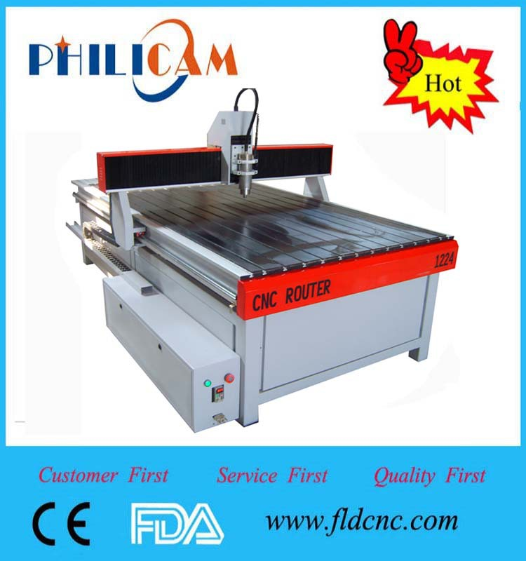 jinan hot sale iron casting 1224 advertising cnc router
