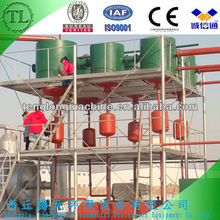Waste tyre oil pyrolysis plant ! tyre recycling to furnace oil !