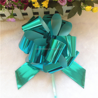 Manufacture high quality plastic outdoor christmas bows for sale