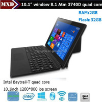 10inch Quad core windows8 tablet pc intel 10-point Capacitance touch tablet pc with keyboard and sim card