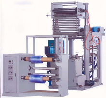 PVC high output heat shrink film blowing making machine