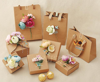 New product handmade cardboard jewelry gift packaging box wholesale