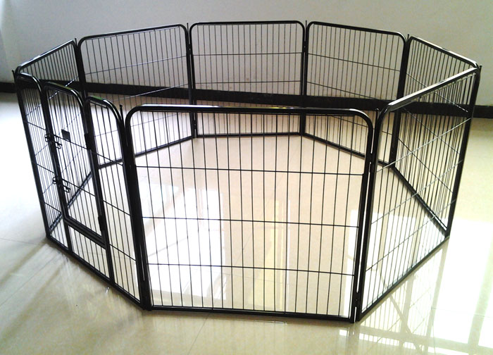 hot sale dog kennel panel /dog pen with 8 panels