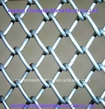 chain link fence dongtai/galvanized and PVC coated