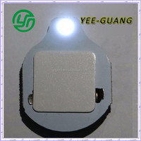 Cold white color led flashing light/Cr2032 battery operated