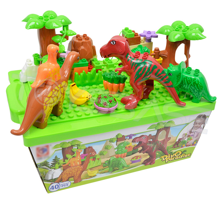 Toys Toys Kid Eco-Friendly ABS Plastic Dinosaur Paradise Educational Toy