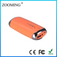 5200mAh pillow general power bank gift/portable USB charger/external backup battery pack with led flashlight