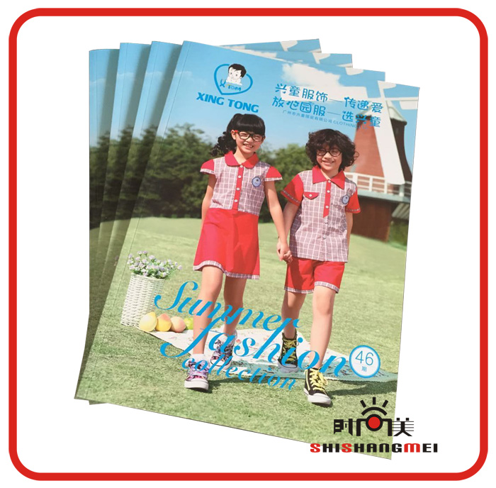 Professional custom advertise magazine softcover catalog <strong>printing</strong> A4 catalogue <strong>printing</strong>