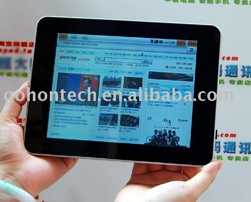 Android 2.2 Freescale A8 8 inch tablet pc Christmas touch pc