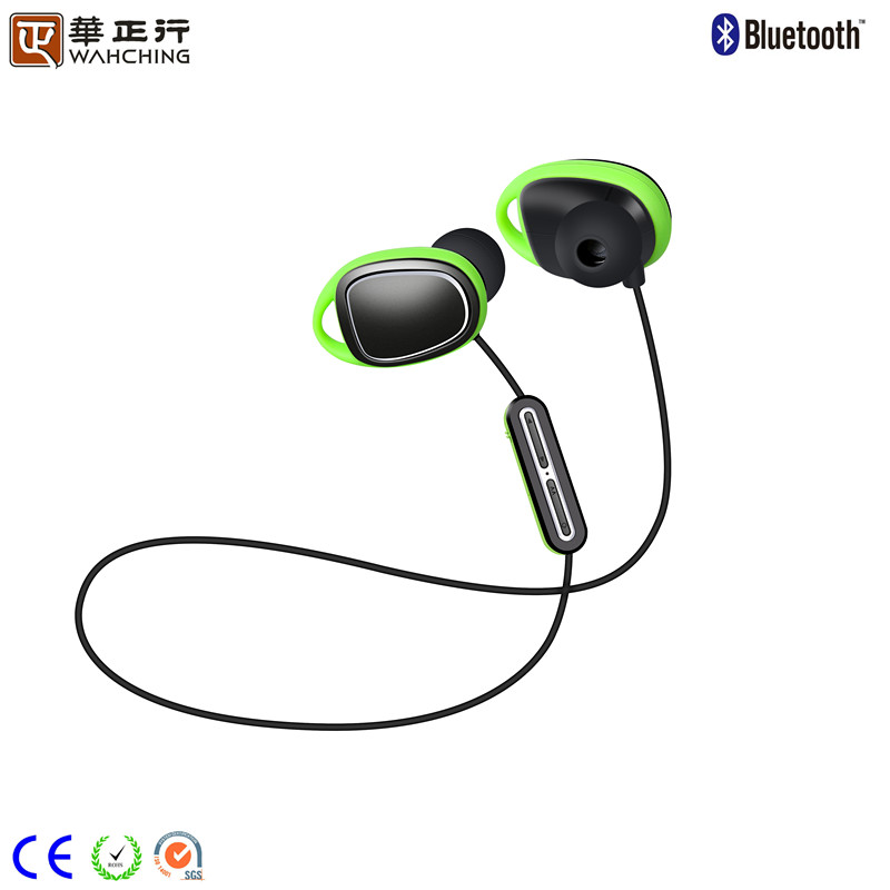2017 New headphones Waterproof IPX7 Noise cancelling wireless bluetooth headphones and Sport earphone Bluetooth for Multi use