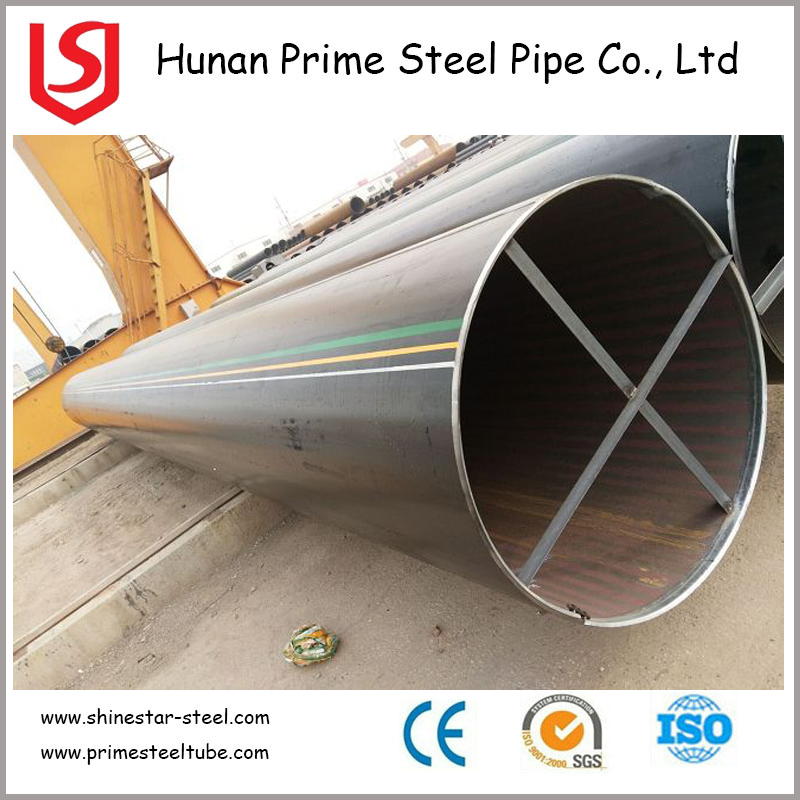 high quality LSAW spiral welded sus304 stainless steel tube/pipe