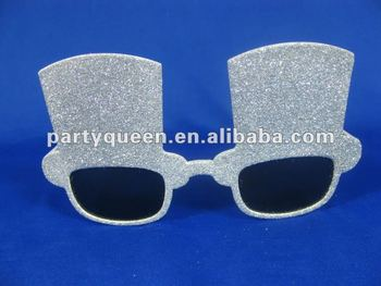 2012 fancy twinkling party glasses P-G043