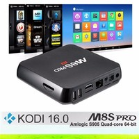 m8s pro s905 android iptv box free lifetime apk 4k android 4.4 tv box