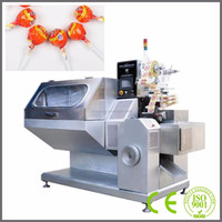 With CE SML130 Fully Automatic High Speed Ball Lollipop Packing Machine