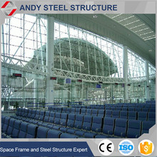 Good Quality Steel Structure Arch Truss Metal Roof Shed for Waiting Room