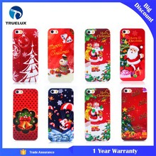 Christmas Carnival Mobile Phone Red Plastic Case for iPhone 7 Plus