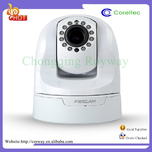 Home Security Devices Lifelike Color Reproduction Remote Operated Camera