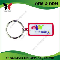 Wholesale custom design blank guitar shaped keychain