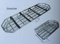 rescue hospital stretcher prices stainless steel basket ambulance stretcher for sale