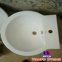 Countertop Sinks Type and Tempered Glass Material Sanitary Ware Counter Top Wash Basin