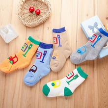 Wholesale thick warm cotton baby kids children tube socks