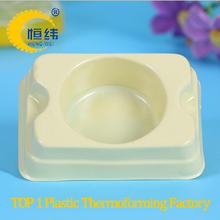 Plastic sheet from thermoforming machine for plastic inner tray for manual soap bar packaging