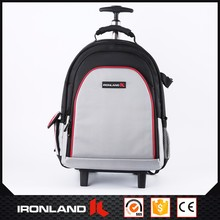Customized Traveling Trolley Polyester 1680d Backpack Bag With Laptop Compartment