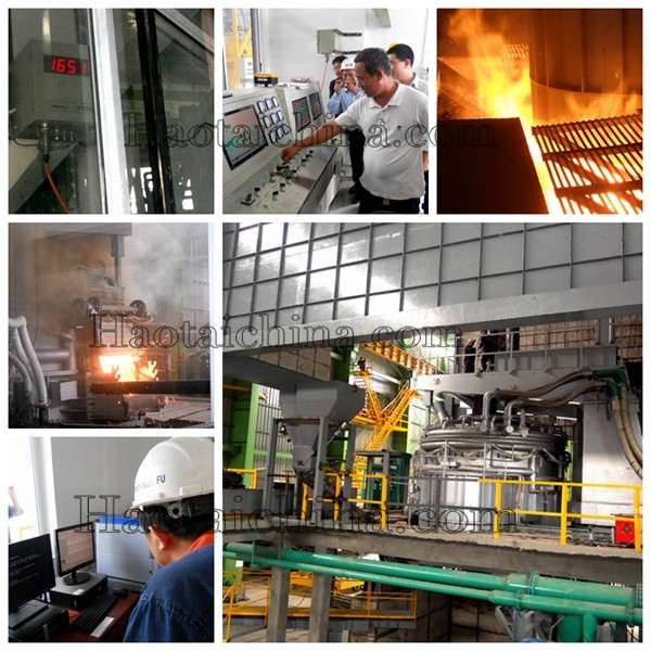 EBT Electric Arc Furnace, steel-making usage EAF
