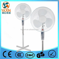 16 Inch Electrical Air Cooling Outdoor Pedestal Standing Up Fan with remote control