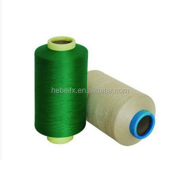 OEM AAA Grade Textured Cationic Bright Twisted 150D 48F Full Semi Dull ATY ITY Filament 100% Polyester DTY Yarn