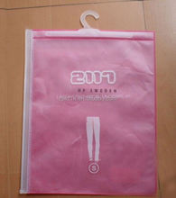 cheap fashion custom a4 clear plastic zipper file envelope