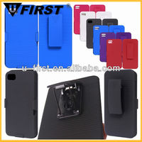 For blackberry Z10 case with swivel belt clip